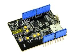 Seeed Music Shield V2.0 Time to build your real-time MIDI instrument/music player! The Music Shield is an audio encoder/decoder compatible with Arduino, Seeeduino, Seeeduino Mega and Arduino Mega.
