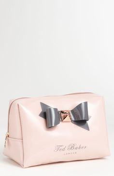 Ted Baker London 'Large Bow' Cosmetics Bag | Nordstrom