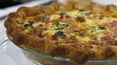 Ring in the new year with a delicious brunch. Al's broccoli, ham and cheddar quiche is the perfect crowd-pleaser! Quiche Recipes, Brunch Recipes, Breakfast Recipes, Dinner Recipes, Breakfast Quiche, Breakfast Time, Breakfast Ideas, Ham Quiche, Frittata