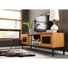Room & Board - Linear 60w 18d 24h Two-Door Media Cabinet