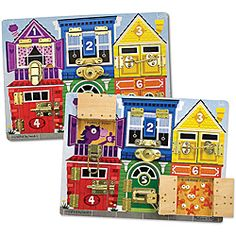 Melissa & Doug Latches Board Play Set