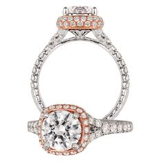 KGR 1046-1 – 18k Gold Engagement Ring   Jack Kelége   Designer Platinum, Gold, and Diamond Engagement Rings, Wedding Rings and Fine Jewelry