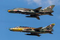 Sukhoi SU 22M-3/4 Fitter, Polish Air Force Fly-past