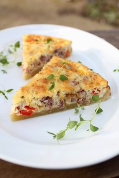Savory Pastry, Tart Recipes, Croissants, Lasagna, Quiche, Easy Meals, Food And Drink, Breakfast, Healthy