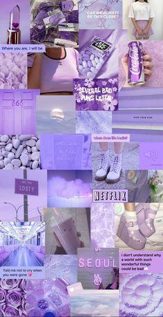 #aesthetic #purple #pastel #wallpaper #lockscreen #iphone #huawei em 2021 | Wallpapers r… in 2021 | Iphone wallpaper themes, Iphone wallpaper girly, Purple wallpaper iphone