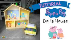 Tutorial DIY - IKEA hackers. Transform FLISAT wood doll house in PEPPA PIG's playhouse https://youtu.be/i1Ydxwv7UjE