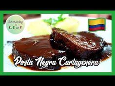 La Receta de Posta Negra Cartagenera es una de las más típicas de la cocina de la región Caribe colombiana. Una receta de carne muy peculiar y popular en