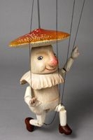 Mushroom Puppet from Japan / Puppet House