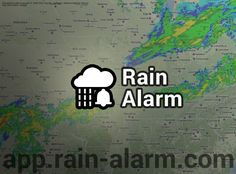Need to know if rain is near? Check out Rain Alarm!