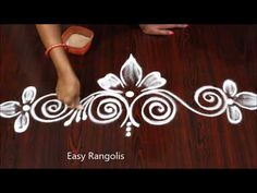 juamkili - 0 results for design Rangoli Side Designs, Rangoli Designs Simple Diwali, Circle Mehndi Designs, Simple Rangoli Border Designs, Rangoli Simple, Rangoli Designs Latest, Free Hand Rangoli Design, Rangoli Borders, Small Rangoli Design