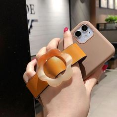 Cute Phone Case For iPhone 11 12 Pro Max X 7 8 Plus XR XS Max 11 Pro Luxury Orange Leather Wrist Strap Back Cover | Touchy Style Cute Iphone 5 Cases, Cute Cases, Iphone Phone Cases, Iphone 8 Plus, Iphone 11, Cheap Iphones, Orange Leather, Things To Sell, Luxury