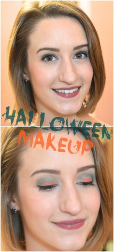 Wearable Halloween themed makeup tutorial using a Revlon Colorstay eyeshadow palette from the Gucci Westman Spring/Summer 2014 Collection