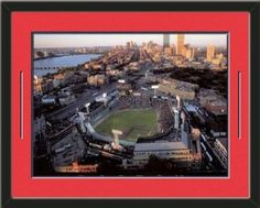 Boston Red Sox Fenway Park Print-Framed