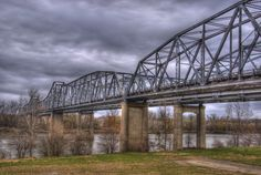 The Platte Purchase Bridge is a continuous truss bridge over the Missouri River that handles northbound U.S. Route 69, connecting the Seventh Street Trafficway in Fairfax, Kansas with Interstate 635 (Kansas–Missouri) in Riverside, Missouri.