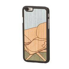 """Lounge """"Valuable Leisures"""" Wood Inlay iPhone 6 Snap-On Cover - Wood'd - Do Shop"""