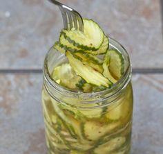 Pepinos en vinagre | #Receta de cocina | #Vegana - Vegetariana ecoagricultor.com