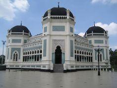 Mosquée d'Al-Mashun Al-Raya, Indonésie