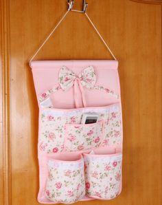 Hang Wall Storage Pocket Bags Organizer Diy Idea Door Hanging Fabric