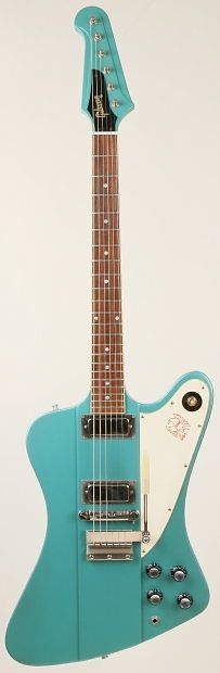 GIBSON Custom Historic Firebird III 1998 Iverness Green | Reverb #oneofakind #electric #guitar