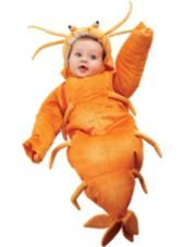 Baby Bunting Shrimp Costume - Halloween City