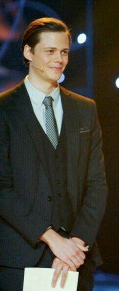 Bill Skarsgård as a presenter at the 2012 Guldabaggegala Awards