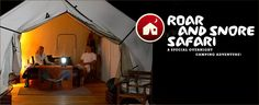 Roar and Snore Safari - A special overnight camping adventure for animal loving and adventurous moms!