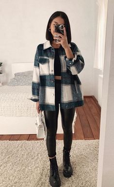 Trendy Fall Outfits, Casual Winter Outfits, Winter Fashion Outfits, Edgy Outfits, Mode Outfits, Moda Fashion, Mode Inspiration, Everyday Outfits, Ideias Fashion
