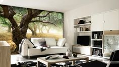 EazyWallz - Wall-size murals! Ohhh man, I would LOVE a bunch of these =) They're super easy to install, so you can change them out with the seasons, or as your style changes!