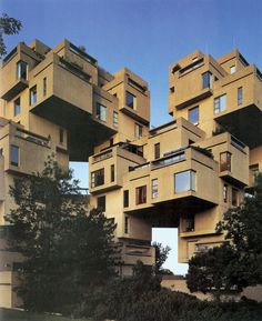"""Habitat 67 by Moshe Safdie 