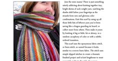 Mini Mania Scarf Color Combinations, Knitting, Mini, Color Combos, Tricot, Breien, Colour Combinations, Stricken, Weaving