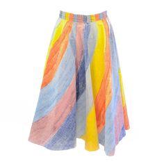 1950s EMILIO PUCCI Circle Skirt