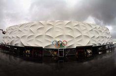 El estadio reciclable de #Londres2012