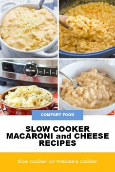 This updated collection of Slow Cooker Mac and Cheese Recipes can help with easy family dinners or when you just need some comfort food! [featured on Slow Cooker or Pressure Cooker] #SlowCookerorPressureCooker #SlowCookerMacandCheese #SlowCookerRecipes #MacnCheeseRecipes Vegan Slow Cooker, Best Slow Cooker, Slow Cooker Recipes, Dinners To Make, Easy Family Dinners, Slow Cooker Macaroni And Cheese Recipe, Cheese Recipes, Vegan Recipes, Slow Cooker Casserole
