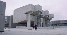 Thamesmead Estate Brutalist architecture used in the film A Clockwork Orange.