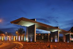 University of the Free State, entrance to the Bloemfontein Campus. Free State, Golden Gate, Homeland, Marina Bay Sands, Canopy, South Africa, Entrance, Places To Go, University