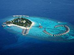 The Centara Grand Island Resort and Spa, #Maldives