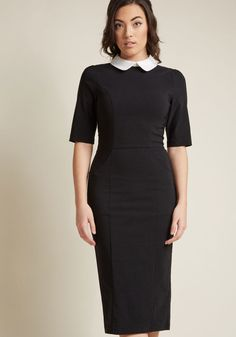 68eff5a2639 Collectif Make My Wednesday Sheath Dress