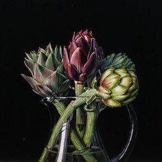 2006 Christopher Beaumont (Australian, 1965) ~ Still Life with Artichokes