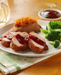 Filet de porc à l'ail et à la sauce barbecue #recette