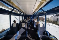 For the best views, try to book seats in the panorama coach.