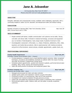 Free Professional Resume Templates | Free Registered Nurse Resume