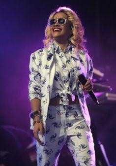 Rita Ora. Nice.