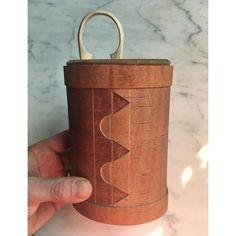 Birch bark container by Reid Schwartz