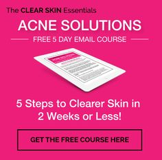 FREE Acne Solutions Email Course: Discover 5 simple diet and skin care steps to getting clearer skin in 2 weeks or less. Foods For Clear Skin, Acne Solutions, Juice Fast, Easy Diets, Facial Care, Acne Scars, Natural Skin Care, Just For You, Simple Diet