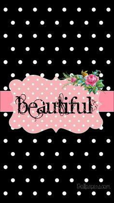 66 New Ideas For Desktop Wallpaper Quotes Black Polka Dots Bow Wallpaper, Spring Wallpaper, Wallpaper Iphone Disney, Trendy Wallpaper, Cellphone Wallpaper, Textured Wallpaper, Wallpaper Quotes, Cute Wallpapers, Iphone Wallpapers