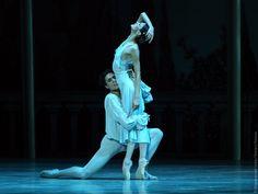 Кристина Шапран и Тимур Аскеров в партиях Джульетты и Ромео в балете «Ромео и Джульетта»