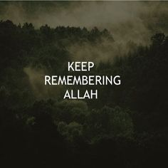 If you keep reminding your heart about Allaah, there will come a time when your heart will remind you of Allaah ♡