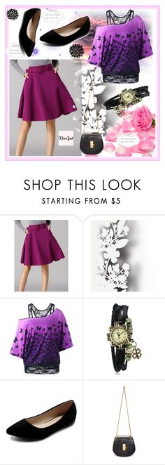 """ROSEGAL #17-III"" by nizaba-haskic ❤ liked on Polyvore featuring Élitis, Ollio and Chloé"