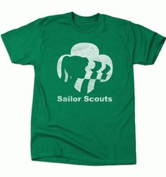 Does This Version Of The Sailor Scouts Sell Cookies? [T-Shirt]