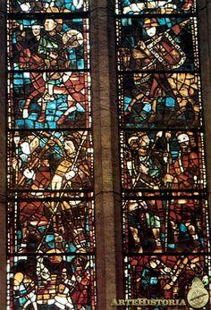 VIDRIERAS de la Catedral de León. Estilo Gótico.